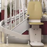 Brooks Bison 80 Curved Stairlift